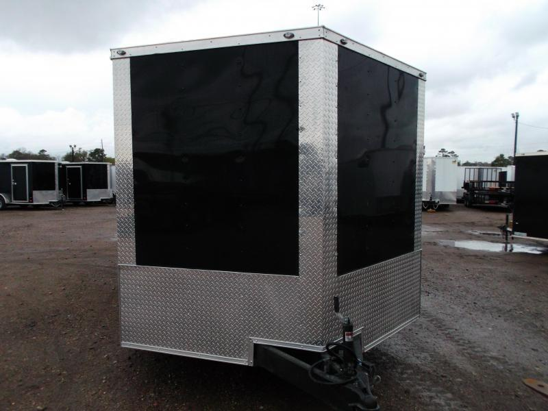 2019 Texas Select 8.5x20 Tandem Axle Cargo Trailer / Car Hauler / 3500# Axles / Heavy Duty Ramp / LEDs