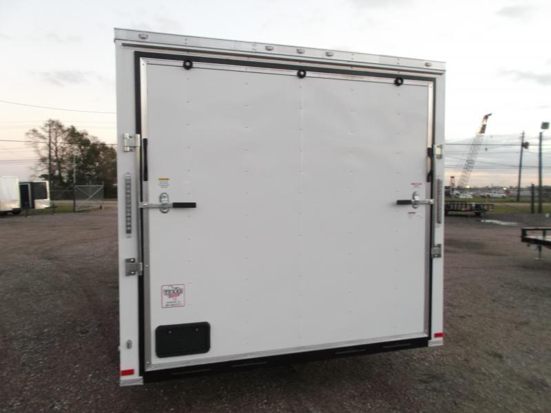 2019 Covered Wagon Trailers 8.5x20 Tandem Axle Cargo Trailer / Enclosed Trailer / Ramp / RV Side Door / LEDs