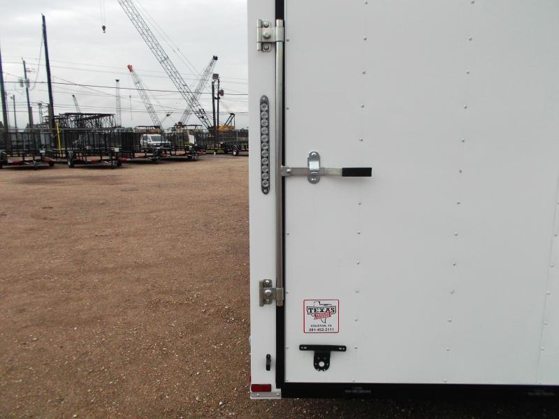 2019 Lark 8.5x24 Tandem Axle Cargo Trailer / Enclosed Trailer / Car Hauler / 5200# Axles / 7ft Interior / Ramp / LEDs