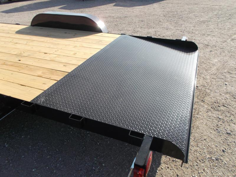 2019 Maxxd 83x20 Car Hauler / Racing Trailer / 2ft Dovetail / Treated Wood / Powder Coated