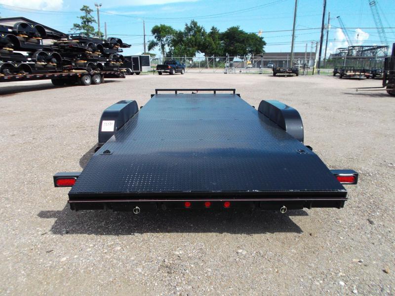 2018 Diamond T 83X20 7K Steel Deck Car Hauler / Racing Trailer / 3500# Axles / Dovetail / LEDs