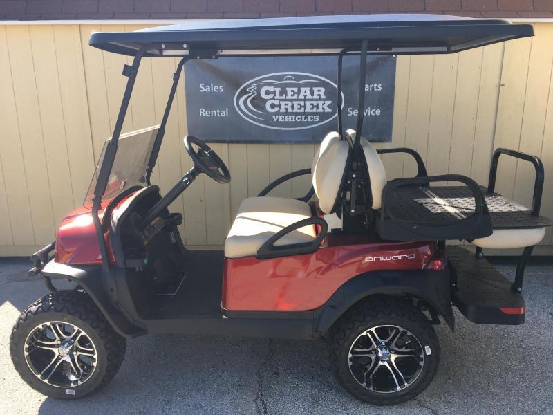 2019 Club Car Onward Lifted Gas Golf Cart