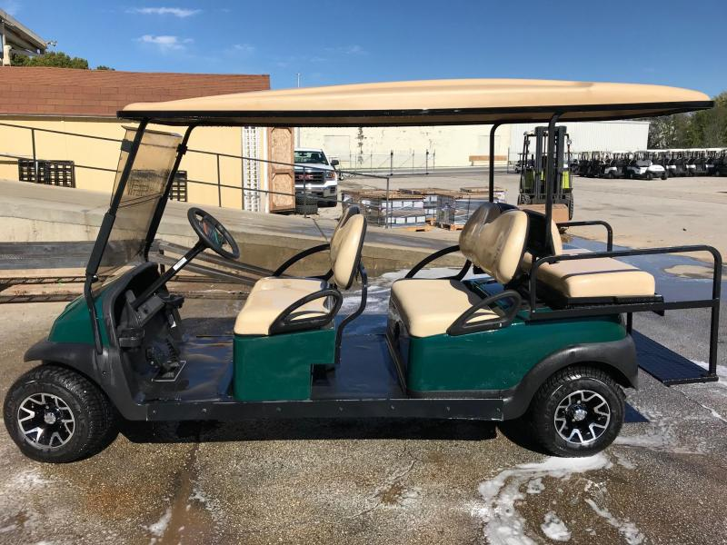 2014 Club Car Precedent Stretched Gas Golf Cart