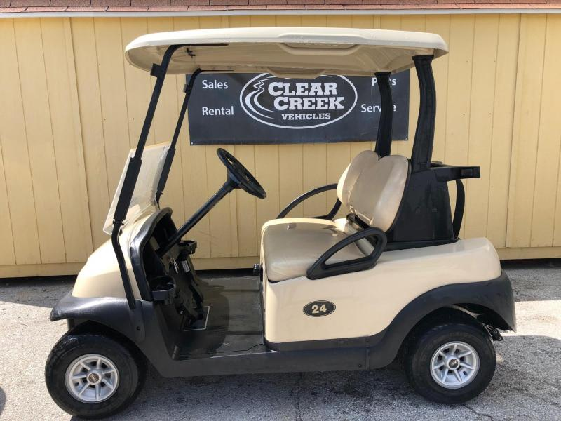 2015 Club Car Precedent Golf Cart Gas EFI