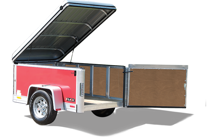 2016 Haulmark FL4X6DS0 Enclosed Cargo Trailer