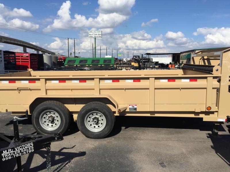 2018 Load Trail TANDEM LOW PRO 83x16' Dump Trailer