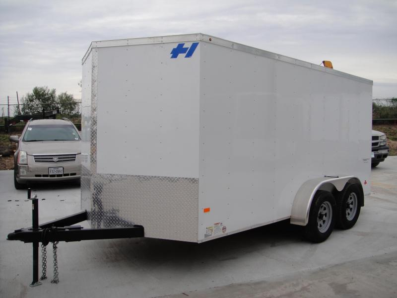 2017 Haulmark 7 X 14 Enclosed Cargo Trailer