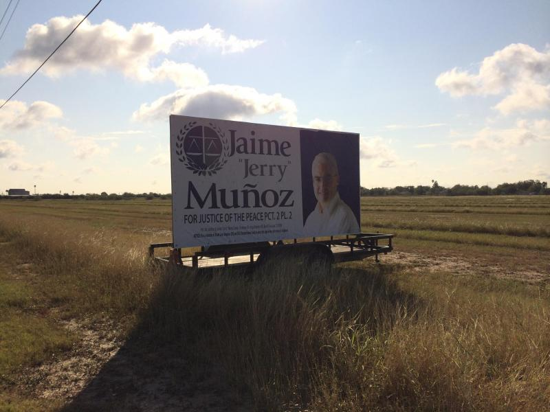 2017 POLITICAL SIGN TRAILER