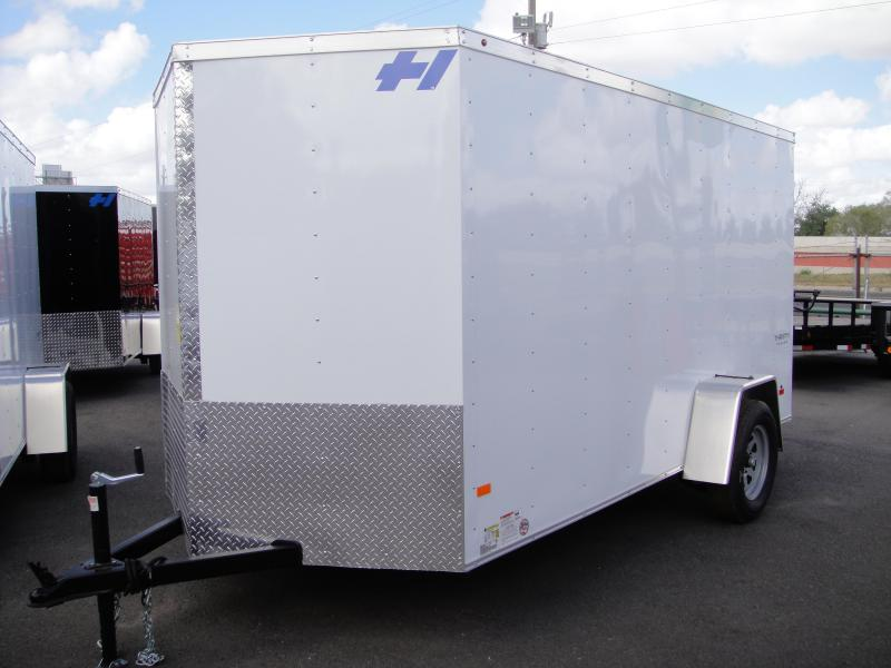 2017 Haulmark 6 X12 Enclosed Cargo Trailer
