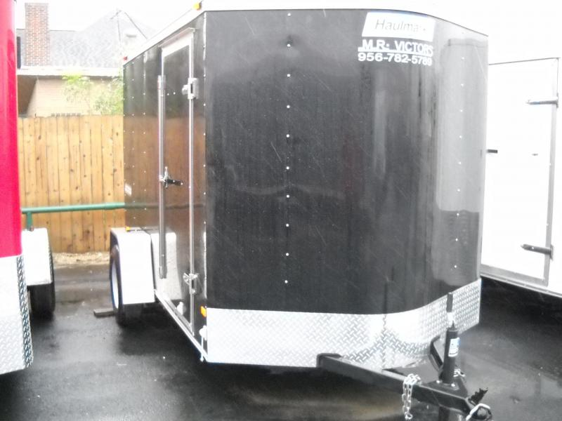 2017 HAULMARK 6 X 10 ENCLOSED TRAILER
