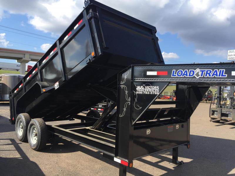 2018 Load Max TANDEM LOW PRO 83x16 Dump Trailer