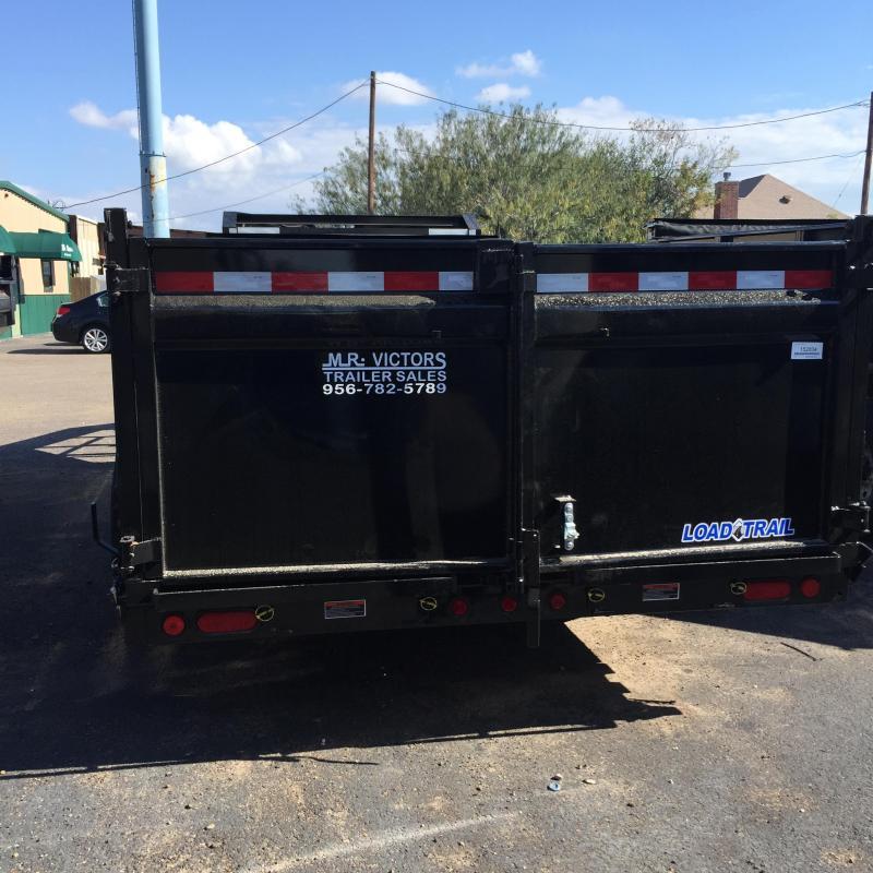 2018 Load Max TANDEM LOW PRO 83x16 Dump Trailer