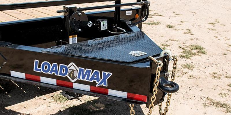 2017 Load Trail 102 X 34 HEAVY DUTY PINTLE HOOK Flatbed Trailer