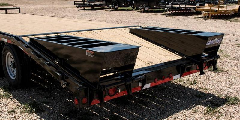 2017 Load Trail 102 X 25 HEAVY DUTY PINTLE HOOK Flatbed Trailer