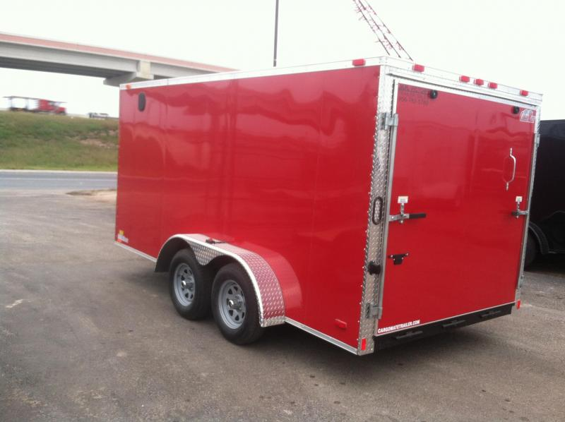 2017 Cargo Mate 7X14 CUSTOM Cargo / Enclosed Trailer
