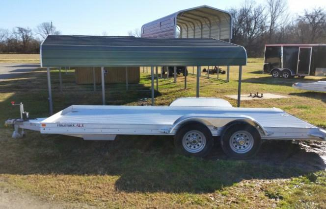 2016 Haulmark 18' Aluminum Car Trailer