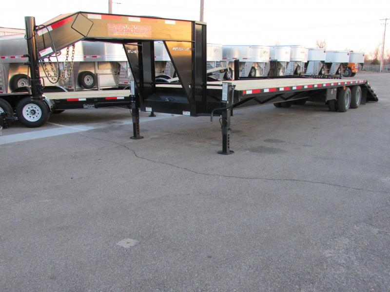 2015 Finish Line DOH20 8.536 Flatbed Trailer