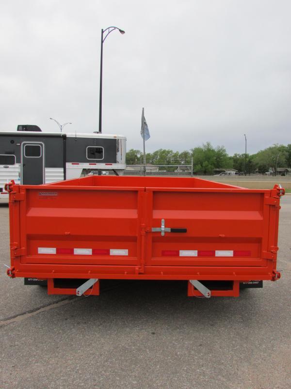 2017 Midsota HV-14DB Dump Trailer