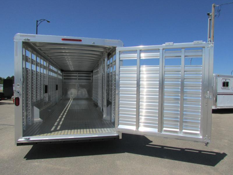 2015 Exiss STK 7630 Stock Trailer