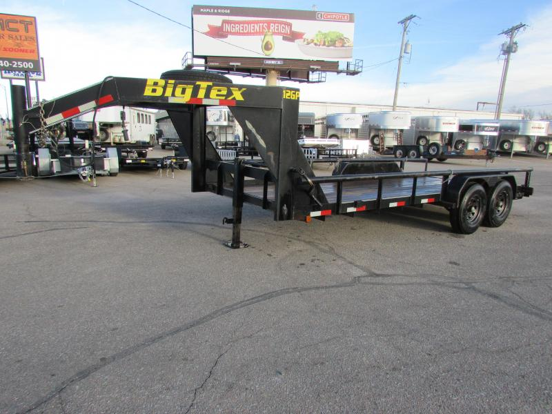 2004 Big Tex Trailers 18 GOOSENECK FLATBED Flatbed Trailer