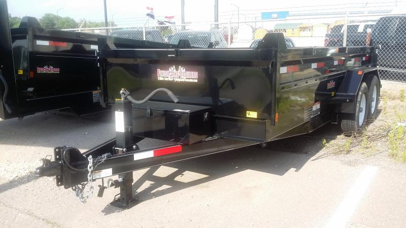 2016 Finish Line DB14 Dump Trailer
