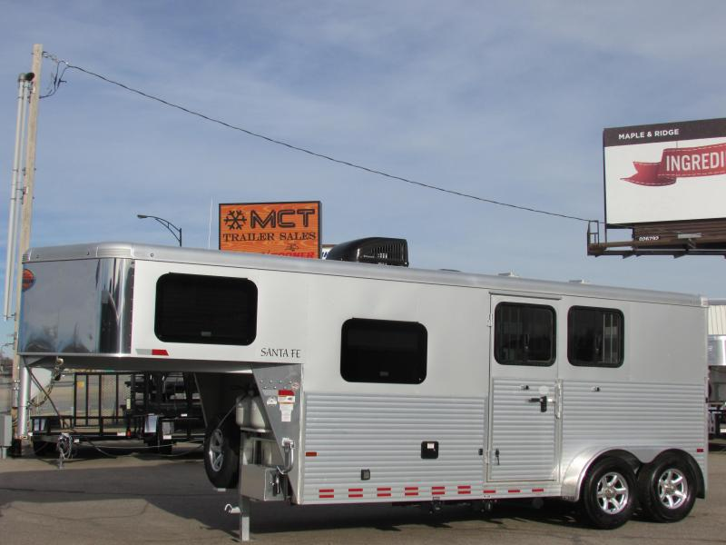 2016 Sundowner Santa Fe GN LQ Two Horse Trailer