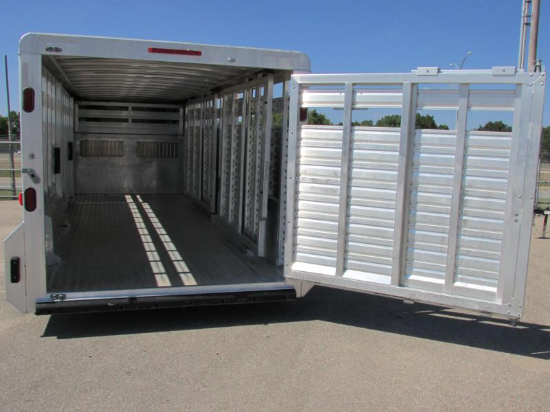 2015 Exiss Trailers STK-7624 Livestock Trailer