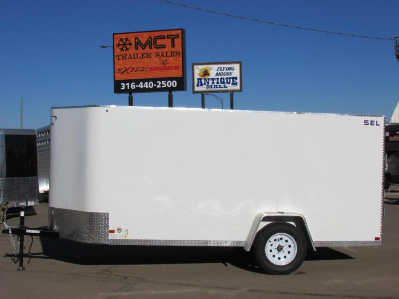2017 Sharp S.E.L. 6 X 12 Cargo / Enclosed Trailer