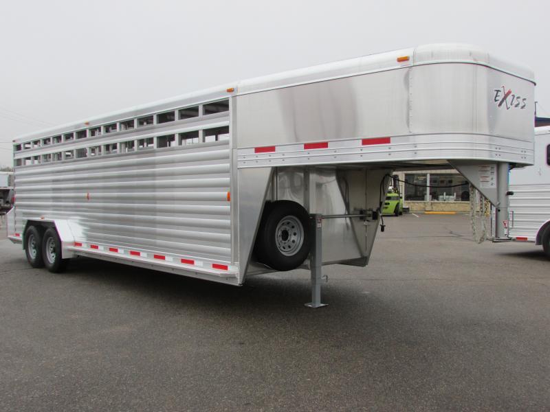 "2016 Exiss STK 7024 6'6"" Tall Livestock Trailer"