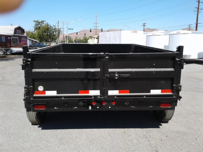 2018 Big Tex Trailers 7X12 10LX Dump Trailer
