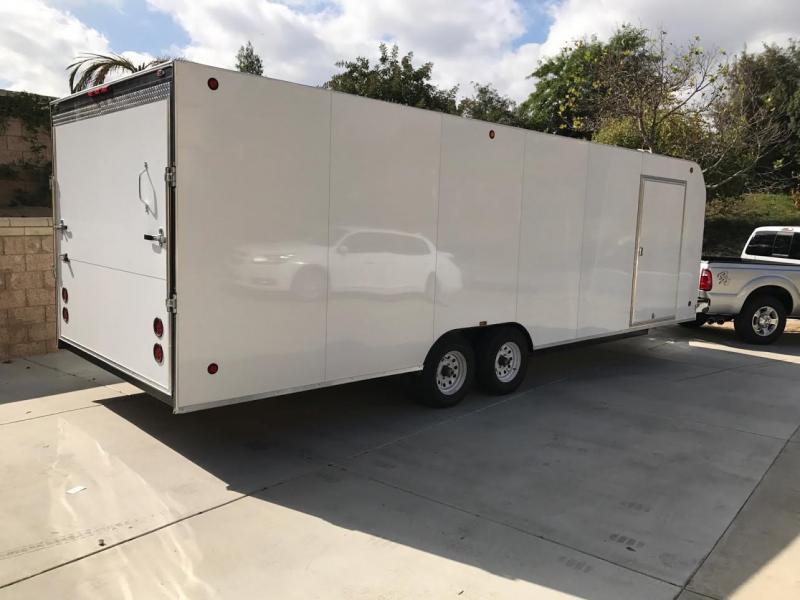 2017 Apache Trailers Enclosed 8.5x28 Cargo Trailer