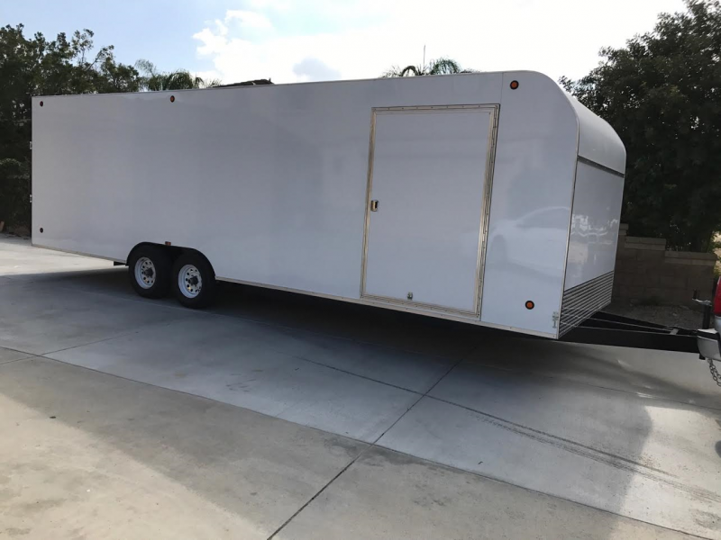 2017 Apache Trailers Enclosed 8.5x28 Cargo Trailer
