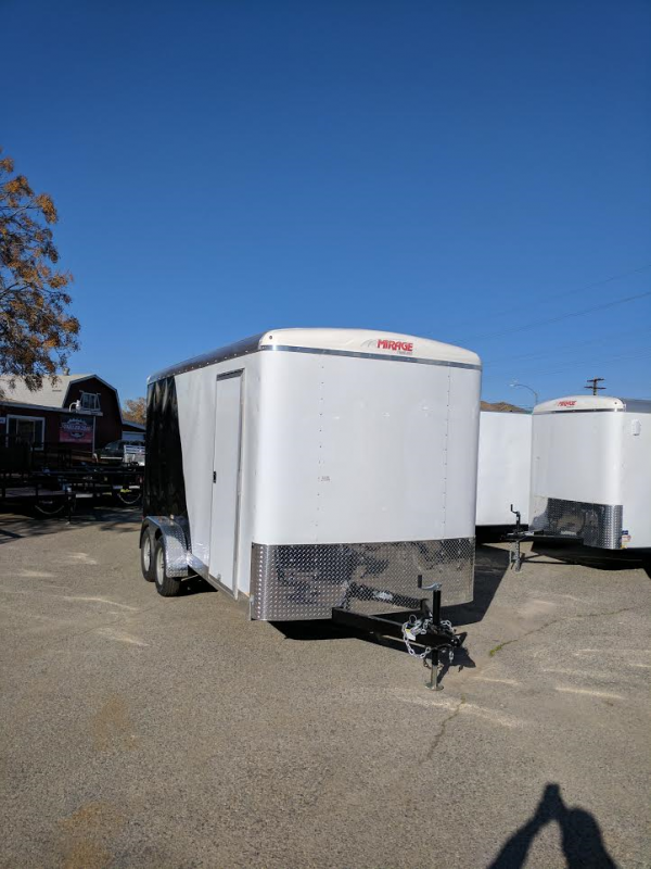 2017 Mirage Trailers 7X14 XCEL Enclosed Cargo Trailer