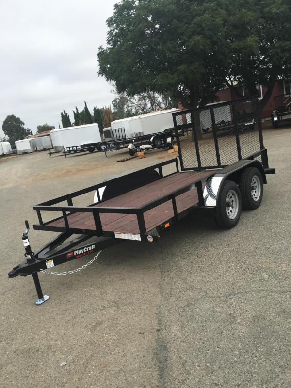 2017_Playcraft_LDSU_77X14_Utility_Trailer_coNGi0 tandem axle utility trailer zone dealer utility and cargo  at gsmx.co