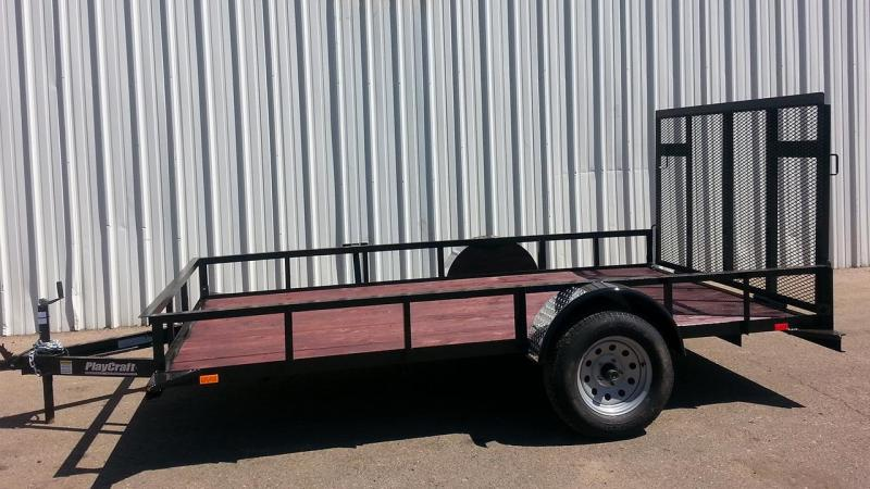 2017 Playcraft 6X12 Utility Trailer