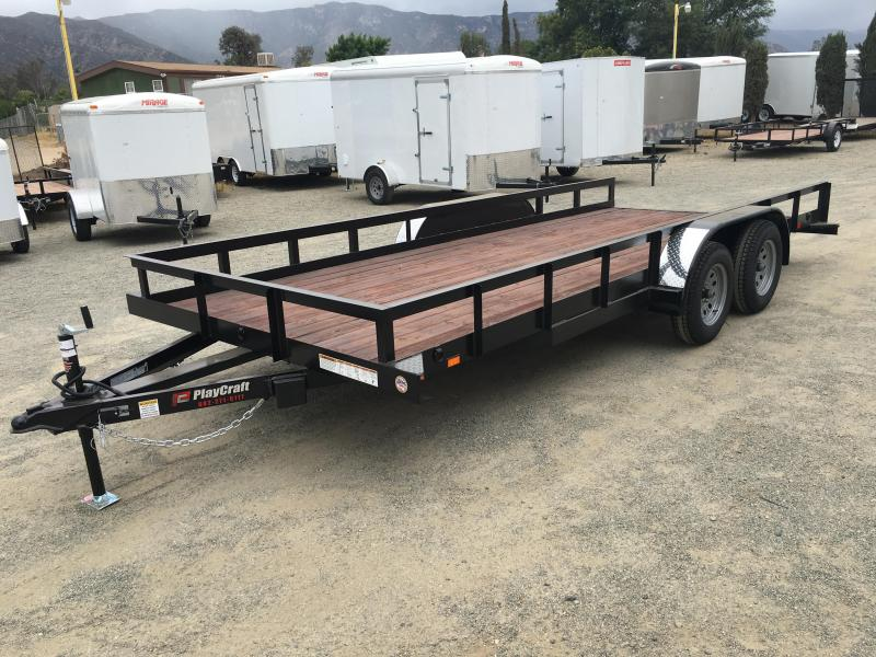 2017 Playcraft 82X14 Utility Trailer