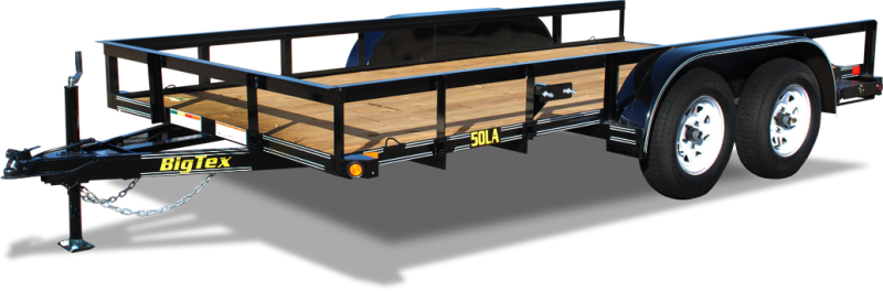 2017 Big Tex Trailers 50LA-14 Utility Trailer