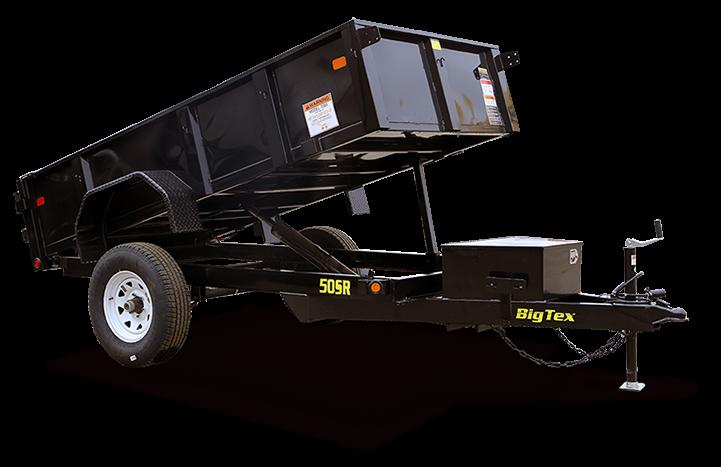 2017 Big Tex Trailers 50SR 5X10 Dump Trailer