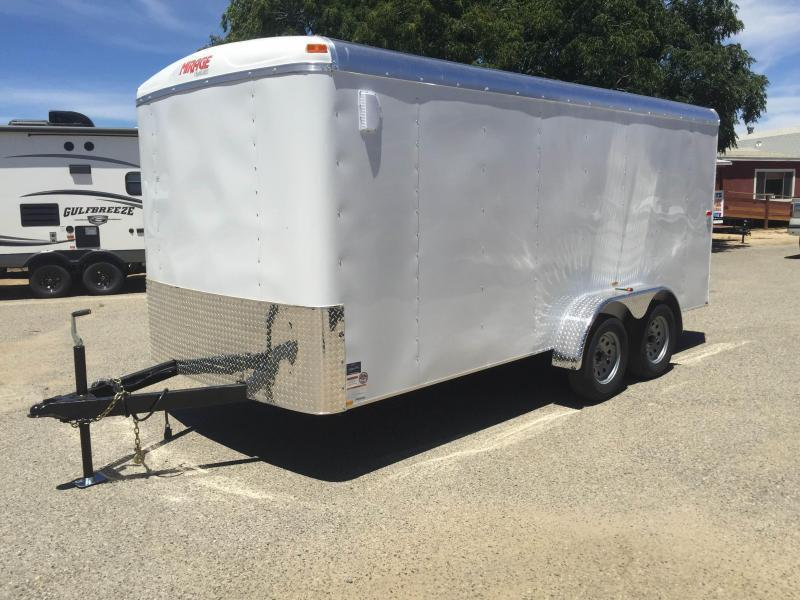 2016 Mirage Trailers 7x16 Enclosed Cargo Trailer