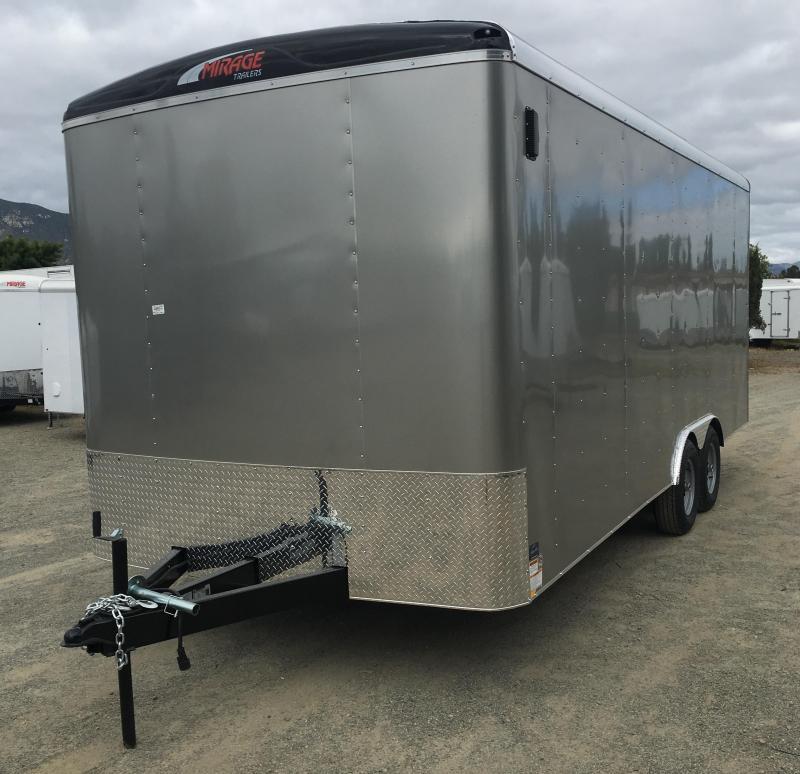 2018 Mirage Trailers XCEL 8.5 X 20 TA3 Enclosed Cargo Trailer