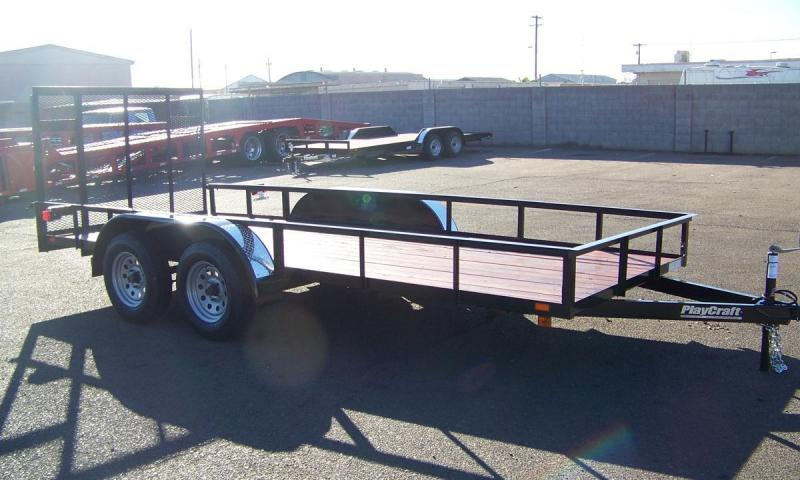 2017_Playcraft_LDSU_77X16_Utility_Trailer_TwP5fM tandem axle utility trailer zone dealer utility and cargo  at gsmx.co