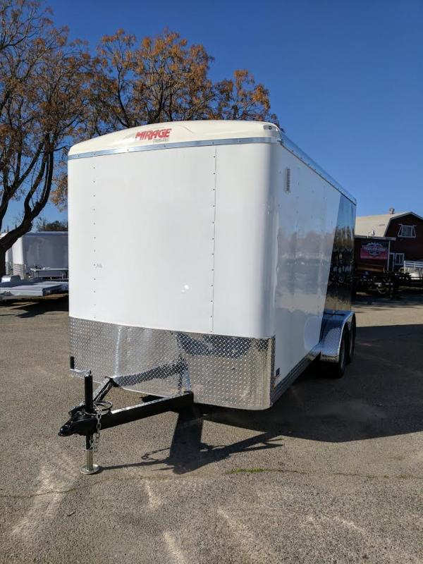 2017 Mirage Trailers XCEL 7X16 Enclosed Cargo Trailer