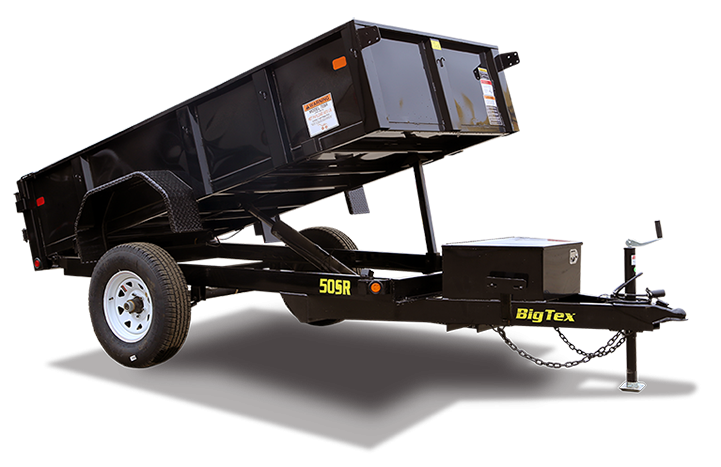 2016 Big Tex Trailers 50SR 10 ft Dump Trailer