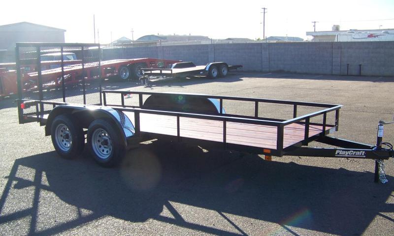 2018 Playcraft 77X16 Utility Trailer