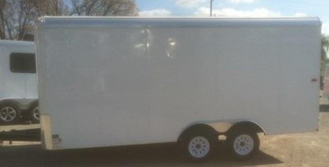 2018 Mirage Trailers XPO 8.5X16 Enclosed Cargo Trailer