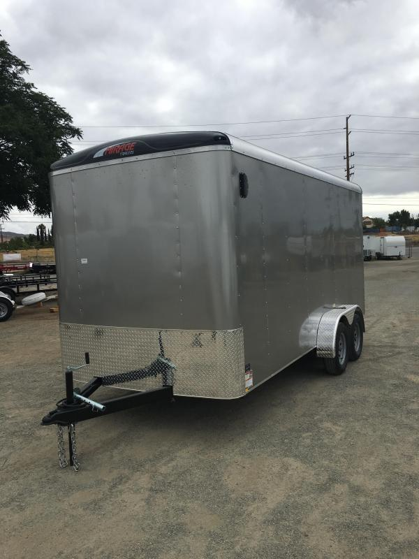 2016 Mirage Trailers 7x14 XCEL EXTRA HEIGHT Enclosed Cargo Trailer