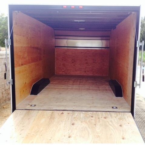 2016 Apache Trailers 8.5x16 Enclosed Cargo Trailer