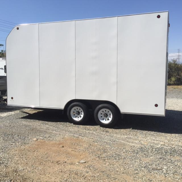 2016 Apache Trailers 8.5x16 Enclosed Cargo Trailer