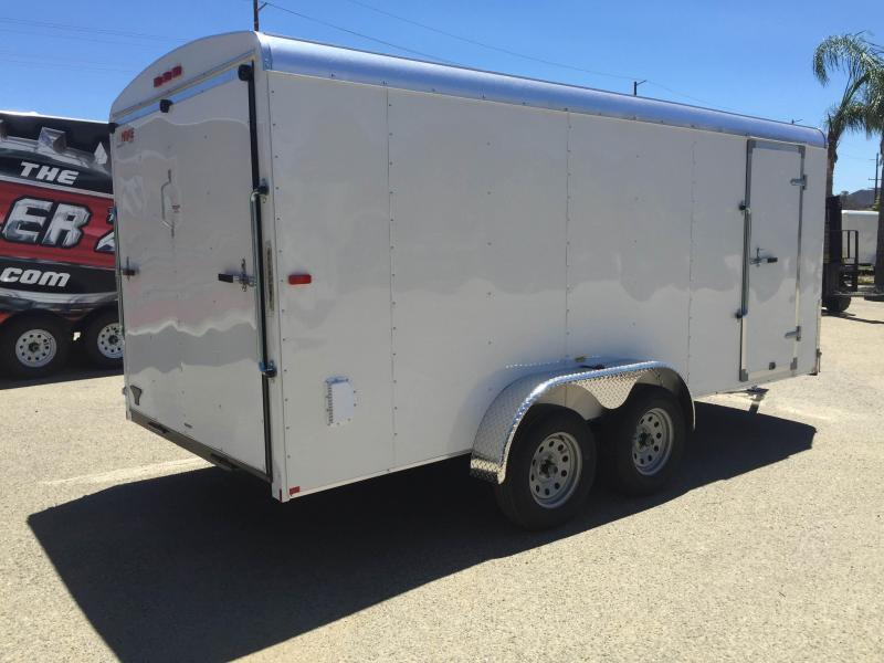 2016 Mirage Trailers 7x14 XCEL Enclosed Cargo Trailer