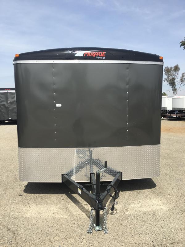 2018 Mirage Trailers XPO 8.5X16 CAR CARRIER PKG CarTrailer